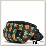 Поясная сумка Zain Printed с ананасами