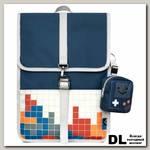 Рюкзак Mr. Ace Homme MR20C1976B01 темно-синий/светло-серый