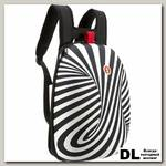 Рюкзак ZIPIT Shell Backpacks черный-белый