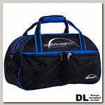 Спортивная сумка Polar П05 Черный (синие вставки)