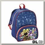 Рюкзак с мягкой спинкой Hama Monsters (синий)
