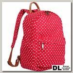 Женский рюкзак Pola 4345 Горох красный