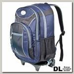 Школьный рюкзак на колесах Polar П382 Темно-синий
