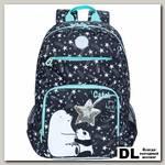 Рюкзак школьный Grizzly RG-164-2 черный