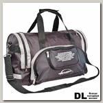 Спортивная сумка Polar П02с Черный (серые вставки)