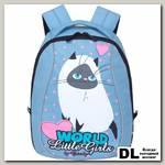 Детский рюкзак Grizzly Cute Cat Blue Rs-764-7