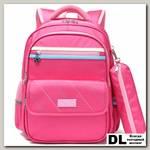Рюкзак школьный в комплекте с пеналом Sun eight SE-2785 Розовый