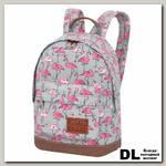 Мини рюкзак Asgard Фламинго серый-розовый Р-5424
