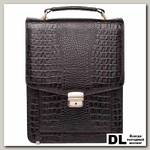 Портфель Lakestone Dormer Black Caiman