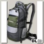 Рюкзак Wenger Narrow Hiking Pack 22 green/grey