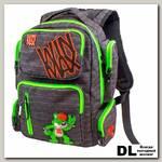 Рюкзак WINmax К-544 Черно-зеленый