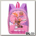 Рюкзак детский RS-897-3 Фиолетовый-розовый