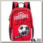 Рюкзак школьный Grizzly RB-863-2 Красный