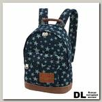 Детский рюкзак Asgard Р-5414 ДжинсЗвезды синий