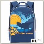 Детский рюкзак Grizzly Dino Blue Rs-734-6