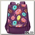 Рюкзак школьный Grizzly RAk-090-3 Фиолетовый