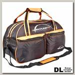 Спортивная сумка Polar П05 Черный (желтые вставки)