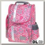 Школьный рюкзак Asgard Р-2401 ОгурцыЦветы серо-розовые