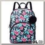 Рюкзак OrsOro DW-835 Цветы на черном