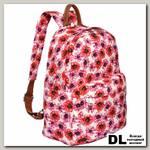 Женский рюкзак Pola 4345 Цветы розовый