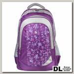 Молодёжный рюкзак BRAUBERG Цветочный узор