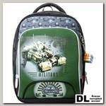 Школьный рюкзак Across Military Green 179-1