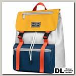 Рюкзак Mr. Ace Homme MR20B1894B01 Светло-серый/Тёмно-синий/Жёлтый
