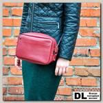 Кожаная сумка Loaf (красный)