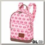 Мини рюкзак Пятачки розовые