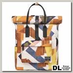 Рюкзак Mr. Ace Homme MR19C1787B01 Белый/Жёлтый/Коричневый