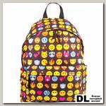 Молодёжный рюкзак BRAUBERG Сити-формат Смайлики