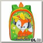 Рюкзак детский RS-896-2 Салатовый-оранжевый