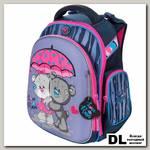 Школьный рюкзак-ранец Hummingbird TK66(Pi) Love rain