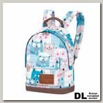 Детский рюкзак Asgard Р-5414 КотыРумяные синий