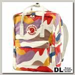 Рюкзак Fjallraven Kanken Art Laptop 13' Камуфляжный Красный/коричневый/фиолетовый
