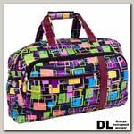 Дорожная сумка Polar 6076 (фиолетовый)