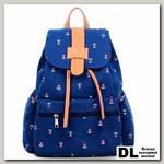 Городской рюкзак Flowers on Blue