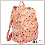 Женский рюкзак Pola 4345 Фрукты розовый
