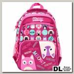 Школьный рюкзак Orange Bear V-50 CATS фуксия
