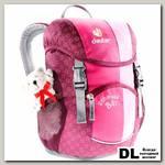 Детский рюкзак Deuter Schmusebar розовый
