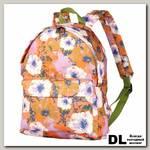 Рюкзак NOSIMOE 003-02D Цветы_оранж
