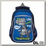 Рюкзак школьный Grizzly RB-052-2 Синий