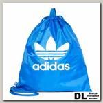 Сумка Adidas GYMSACK TREFOIL BLUE Голубая
