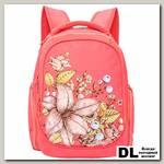 Рюкзак школьный Grizzly RG-867-1 (коралловый)