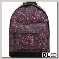 Рюкзак Mi-Pac Premium Denim Squiggle Black/Pink