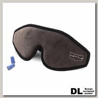 Маска для сна Mettle 3D ультра комфорт Серый