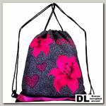 Мешок для обуви DeLune Beauty Flowers S-140