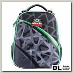 Ранец Mike Mar Футбол темно-серый/зеленый кант
