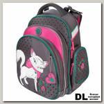 Школьный рюкзак-ранец Hummingbird TK68 White cat