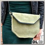 Замшевая сумка Rumba (зеленый)